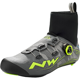 Northwave Flash Arctic GTX Zapatillas de carretera Hombre, reflective/yellow fluo